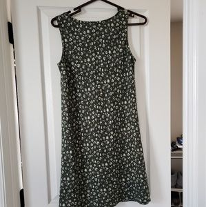 Abercrombie & Fitch Dresses - Abercrombie & Fitch green linen sundress